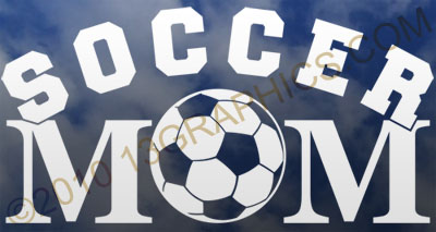 Soccer mom window sticker decal Vinyl sticker decal